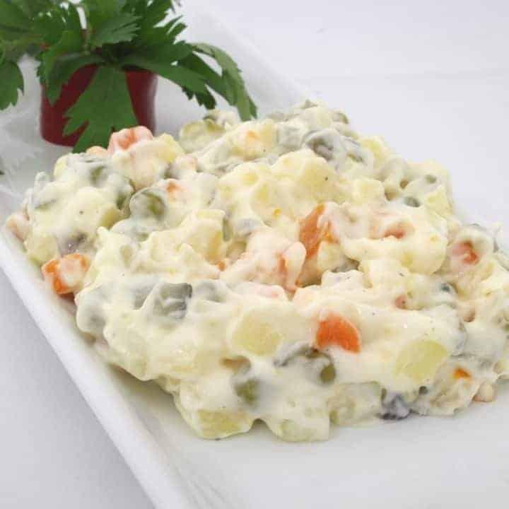 Salatka Jarzynowa - Traditional Polish Salad Recipe
