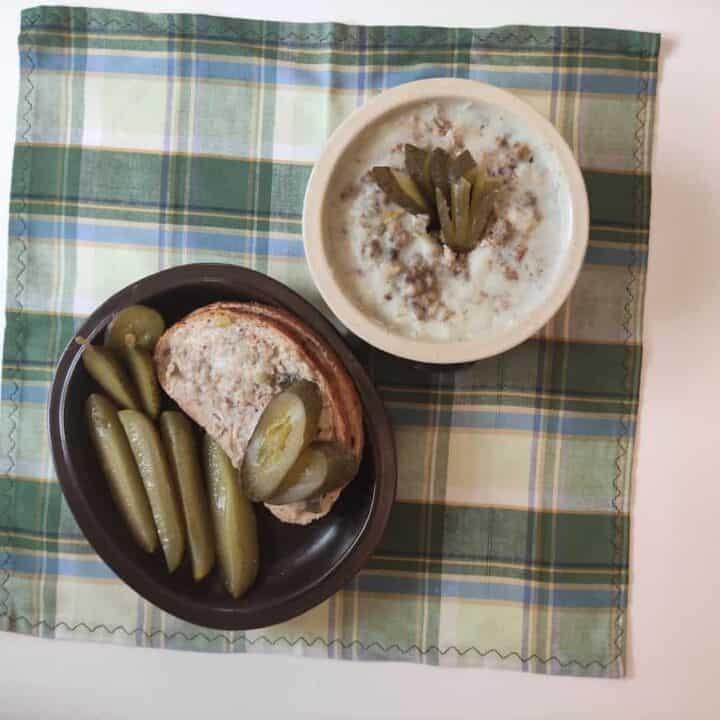 Smarowidło - Polish Spread For Bread Recipe