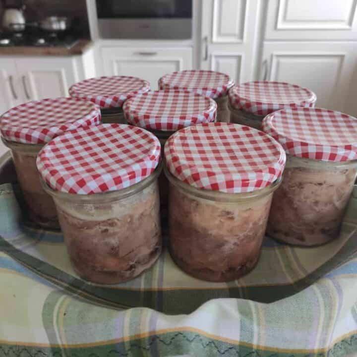 Konserwa- Polish Homemade Canned Pork Recipe