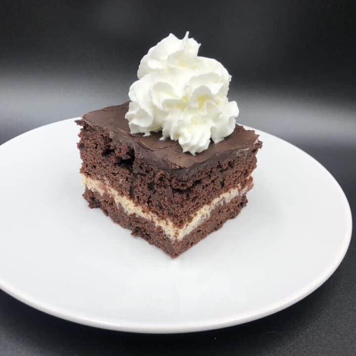 Wuzetka Recipe - Delicious Black And White Chocolate Cake