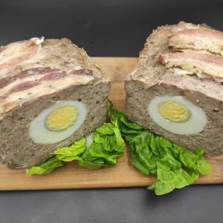 Polish Meatloaf With Boiled Eggs Recipe (Pieczeń Rzymska)