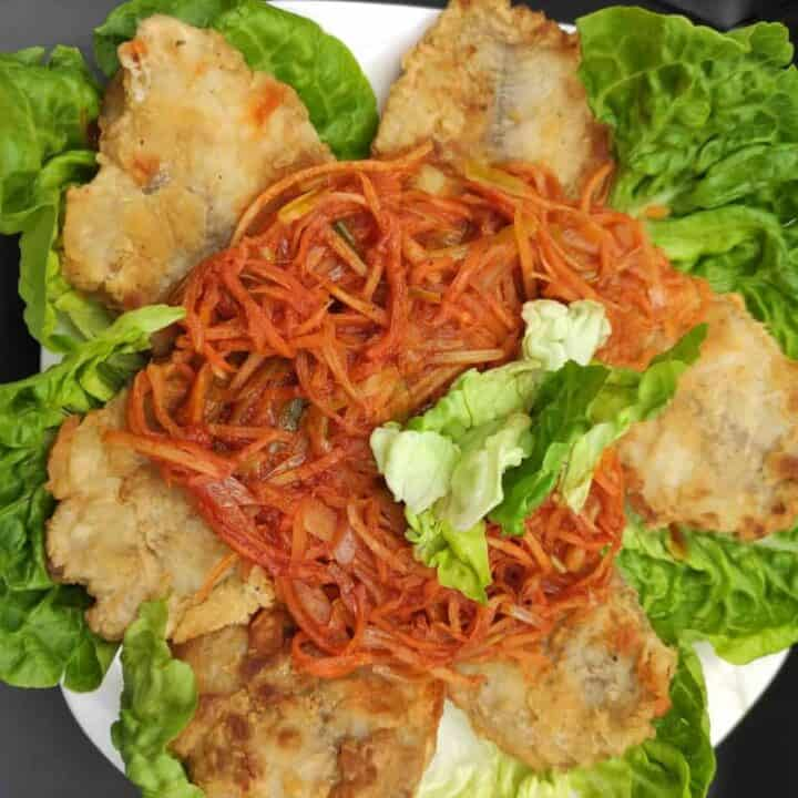 Polish Greek Fish Ryba Po Grecku Recipe