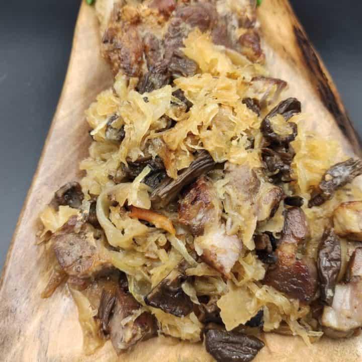 Bigos Myśliwski Polish Hunter's Stew Recipe