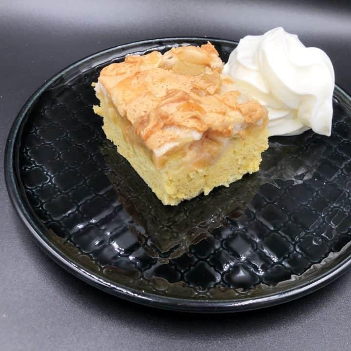 Polish Rhubarb Cake Recipe