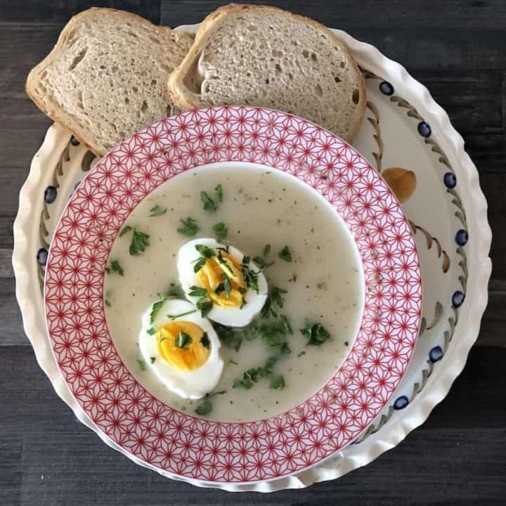 Barszcz Biały Na Zakwasie Polish Easter White Borscht Recipe