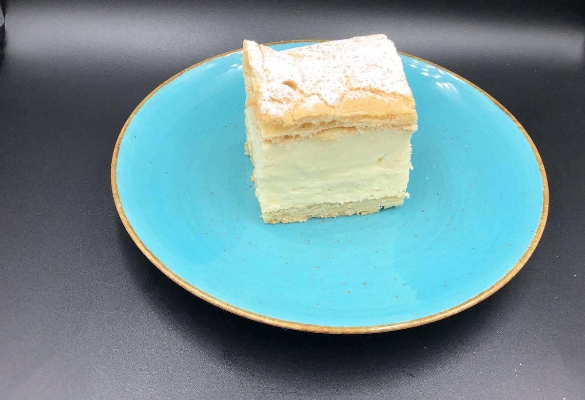 karpatka cake.