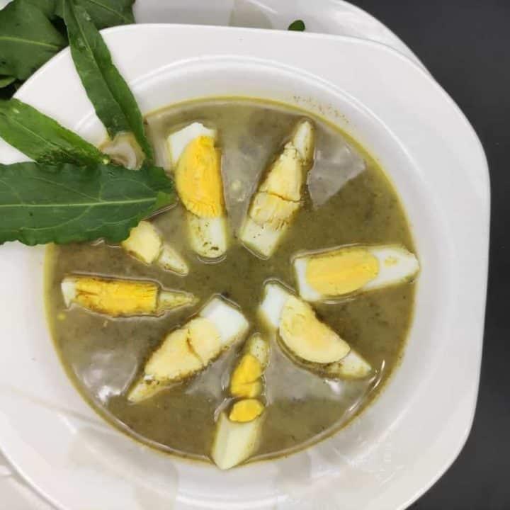 Zupa Szczawiowa Polish Sorrel Soup Recipe