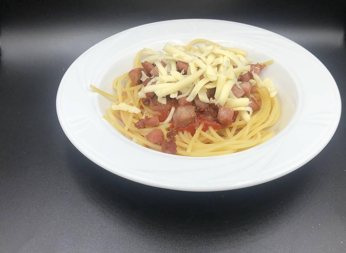 Polish spaghetti recipe.